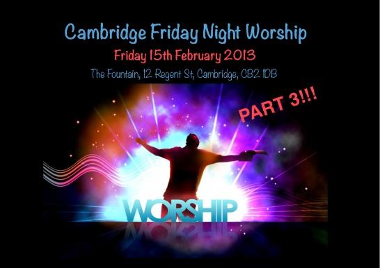 Friday Night Worship Feb1