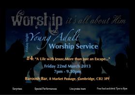 Friday Night Worship March 5