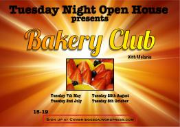 Tuesday Open House Bakery Club