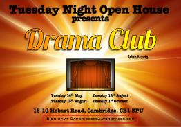 Tuesday Open House Drama Club