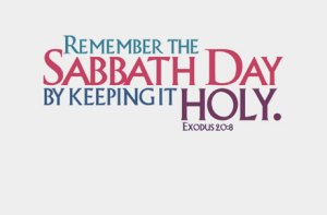 sabbath bible study
