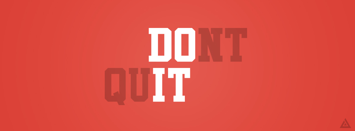 Fitness Tip #3 – Don't Quit – Cambridge Hub