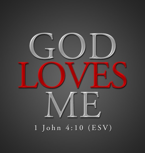 1 John 4:10 - In this is love, not that we have loved God but that he loved us and sent his Son to be the propitiation for our sins