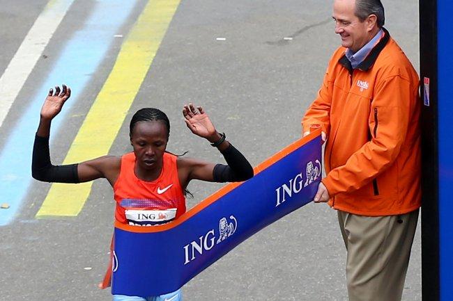 Adventist Marathon winner
