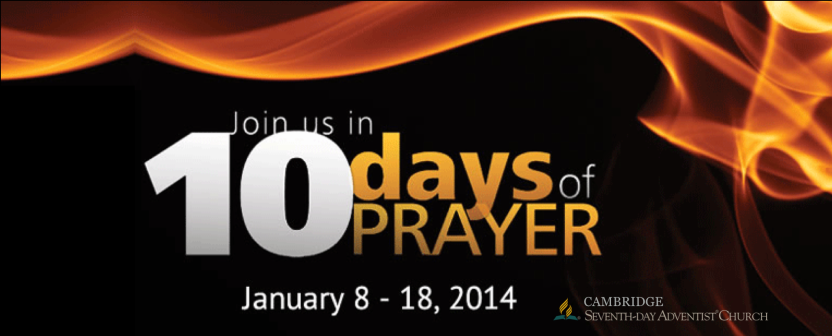 10 Days of Prayer 2014
