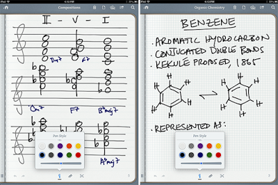 Penultimate iPhone/iPad Apps for Students for Taking Notes