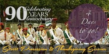 90 Year Anniversary - Banner 4 Days