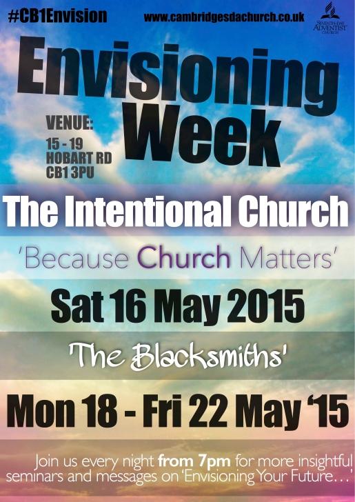 Envisioning Week - Poster May-2